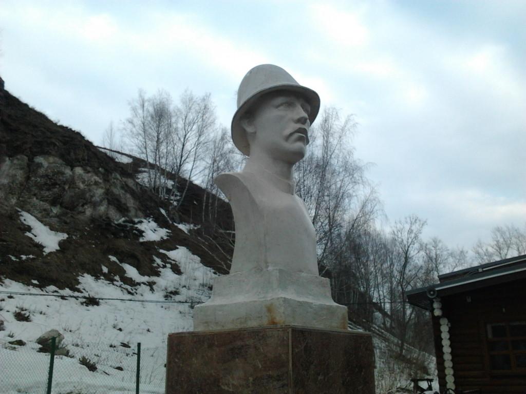 Первый хранитель и экскурсовод пещеры Хлебников Александр Тимофеевич